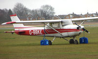 G-BBKE @ EGTC - Part of the General Aviation activity at Cranfield