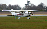 G-BAIX @ EGTC - Part of the General Aviation activity at Cranfield