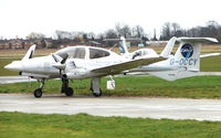 G-OCCY @ EGTC - Part of the General Aviation activity at Cranfield