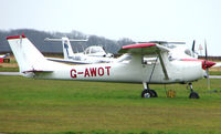 G-AWOT @ EGTC - Part of the General Aviation activity at Cranfield