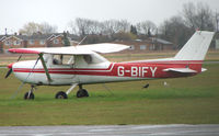 G-BIFY @ EGTC - Part of the General Aviation activity at Cranfield