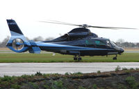 G-MRMJ @ EGTC - Visiting helicopter to Cranfield