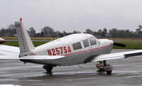 N257SA @ EGTC - Part of the General Aviation activity at Cranfield