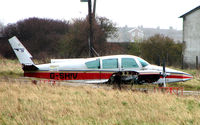 G-SHIV @ EGTC - American GA-7 dumped at Cranfield
