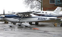 N1329T @ EGTC - Visitor to Cranfield in March 2008