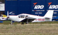 G-BEUD @ EGTC - Visitor to Cranfield in March 2008