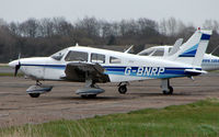 G-BNRP @ EGTC - Part of the General Aviation activity at Cranfield