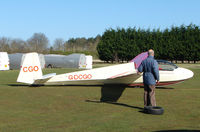 G-DCGO @ X1WE - Glider at Weston-on-the Green , Oxford