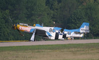 N151RJ @ KOSH - Shortly after Accident with Precious Metal II - by Mark Silvestri