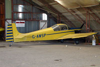 G-AWSP @ EGTN - One aircraft at the friendly Enstone Airfield in Oxfordshire