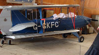 G-GKFC - One aircraft at the friendly Enstone Airfield in Oxfordshire
