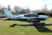 G-OBEI - One aircraft at the friendly Enstone Airfield in Oxfordshire