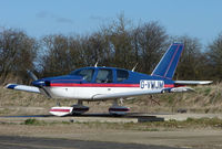 G-VMJM @ EGTN - One aircraft at the friendly Enstone Airfield in Oxfordshire