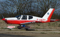 F-GSZY - Newly based aircraft at Enstone rumoured to be staying on the FRENCH Register