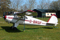 G-BRGF - Based aircraft at the quaintly named Hinton-in-the-Hedges airfield