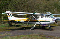 G-AYRO - Based aircraft at the quaintly named Hinton-in-the-Hedges airfield
