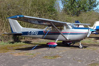 G-BFIU - Based aircraft at the quaintly named Hinton-in-the-Hedges airfield