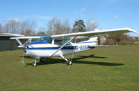 G-BSRR - Based aircraft at the quaintly named Hinton-in-the-Hedges airfield