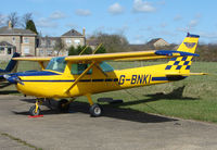 G-BNKI - Based aircraft at the quaintly named Hinton-in-the-Hedges airfield