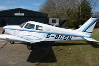 G-BCGN - Based aircraft at the quaintly named Hinton-in-the-Hedges airfield