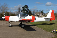 G-BYRY @ X3HH - Based aircraft at the quaintly named Hinton-in-the-Hedges airfield