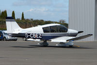 G-CBEZ @ EGBT - The Buckinghamshire airfield at Turweston always has a good variety of aircraft movements