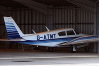 G-ATMT @ EGBT - The Buckinghamshire airfield at Turweston always has a good variety of aircraft movements