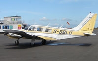 G-BBLU @ EGBT - The Buckinghamshire airfield at Turweston always has a good variety of aircraft movements
