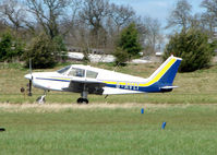 G-AVLT @ EGBT - The Buckinghamshire airfield at Turweston always has a good variety of aircraft movements