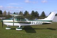 G-LEGG - Cessna Skylane on a sunny Spring day at Hinton - by Simon Palmer