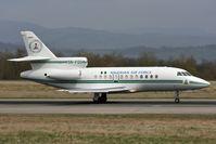 5N-FGO @ LFSB - Nigerian Air Force Falcon 900 departing runway 16 - by runway16