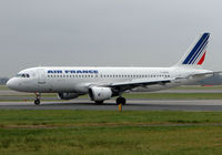 F-GFKV @ EGCC - Air France A320 at Manchester - by Terry Fletcher