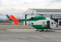 D-HSAT @ EDSB - Germany - Police Eurocopter BK117 B-2 - by G.Rühl