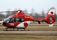 D-HDRN @ EDSB - DRF Deutsche Rettungsflugwacht Eurocopter EC135 P2 - by G.Rühl