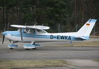 D-EWKA @ EDSB - Flugsportverein 1910 Karlsruhe Cessna 152 - by G.Rühl
