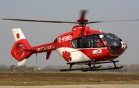 D-HDRB @ EDSB - DRF Eurocopter EC135 P2 - by G.Rühl
