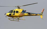 D-HPIX @ EDSB - Helix Flug Eurocopter AS-350 B3 Ecureuil - by G.Rühl