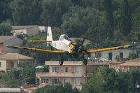 127 @ LGKR - Greece Airforce PZL M18 - by Andy Graf-VAP
