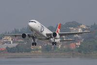 D-ALTD @ LGKR - LTU A320 - by Andy Graf-VAP