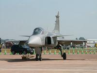 39168 @ EGVA - SAAB JAS39A Gripen/Swedish Air Force/RAF Fairford - by Ian Woodcock