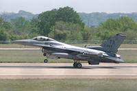 85-1444 @ NFW - Landing at Carswell Field - by Zane Adams