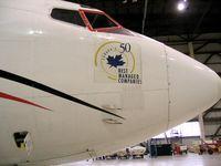 C-FCJP @ YVR - in hangar for repair - by metricbolt