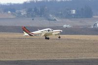 N2123T @ CID - Departing Runway 27 - by Glenn E. Chatfield