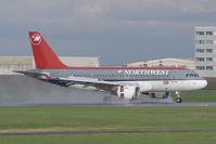N337NB @ CYUL - Northwest A320 - by Andy Graf-VAP