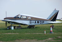 G-AWDP @ EGSH - 30 year old Piper Pa-28-180 at Norwich UK