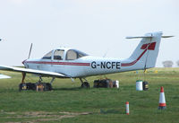 G-NCFE @ EGSH - Piper Tomahawk at Norwich UK