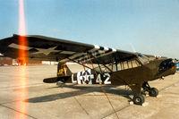 N7744B @ CNW - Texas Sesquicentennial Air Show 1986 - by Zane Adams