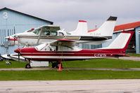 C-FWTN @ CNC3 - At Brampton, Ontario - by Steve Hambleton