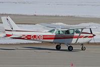 C-GJDB @ CYKF - Taxing to Runway 32 (Canon XT, 70-300mm) - by Shawn Hathaway