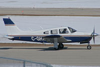 C-GHXP @ CYKF - Taxing to Runway 32 (Canon XT, 70-300mm) - by Shawn Hathaway